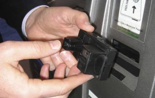 ATM Credit Card Skimmer