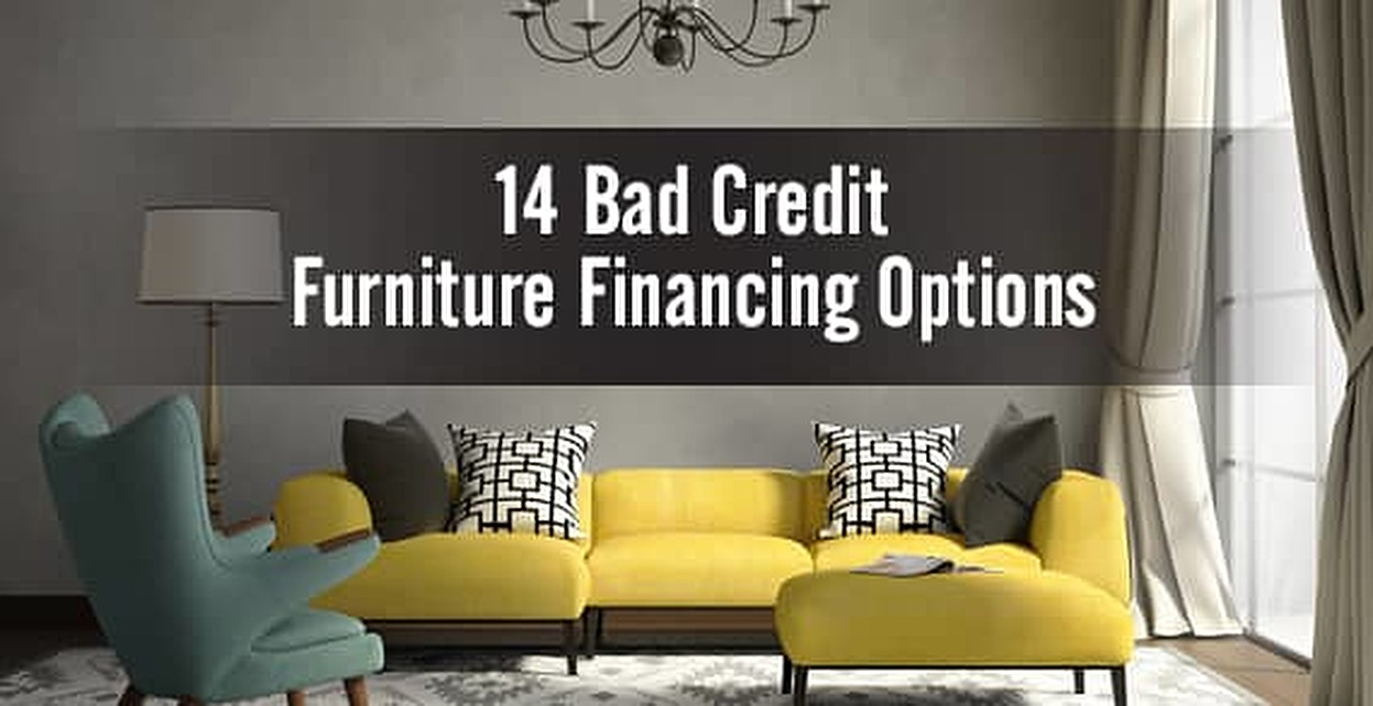 Bad Credit Furniture Financing Top Options - Buy a sofa on finance