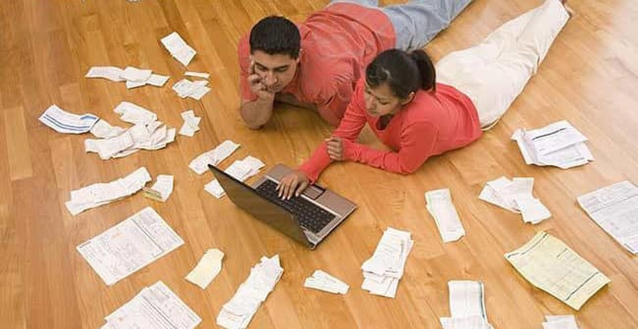 How to Explain Your Bad Credit to Your Partner
