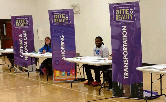 Photo from a GNCU Bite of Reality Event