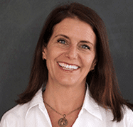 Portrait of Carrie Goux, Vice President of Communications at GreatSchools