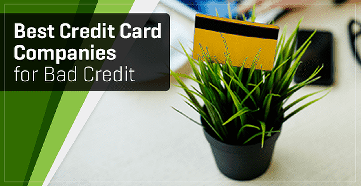 9 Best Credit Card Companies for Bad Credit