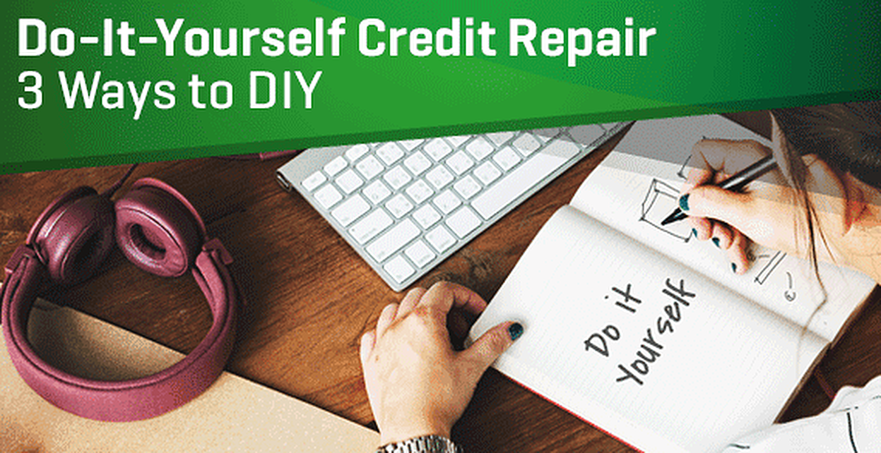 Do It Yourself Credit Repair 3 Ways To Diy Letters Software