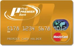 First PREMIER Bank® MasterCard Credit Card