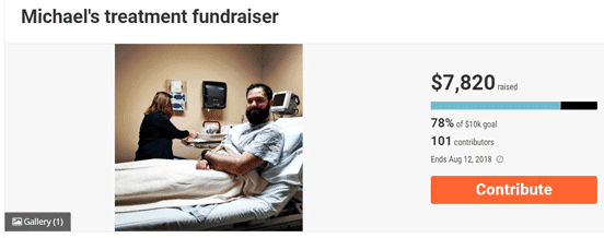 Example of a Campaign on FundRazr