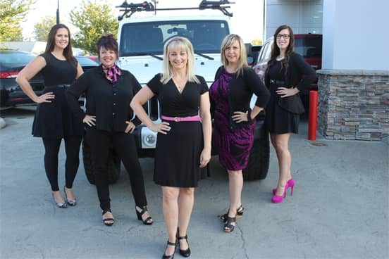 Photo of the Langley Auto Loans Team