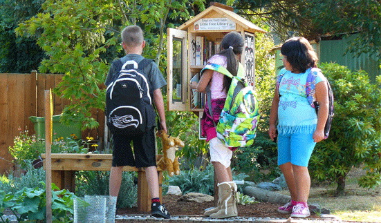 Photo of a Little Free Library in Mountlake Terrace, Washington