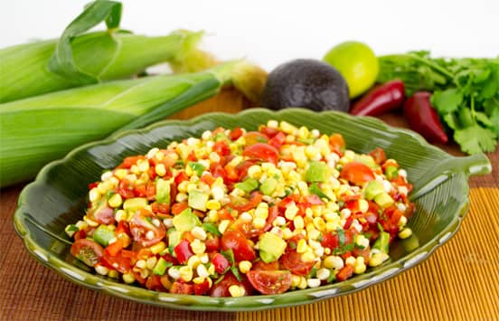 Photo of Mexican Corn and Avocado Salad