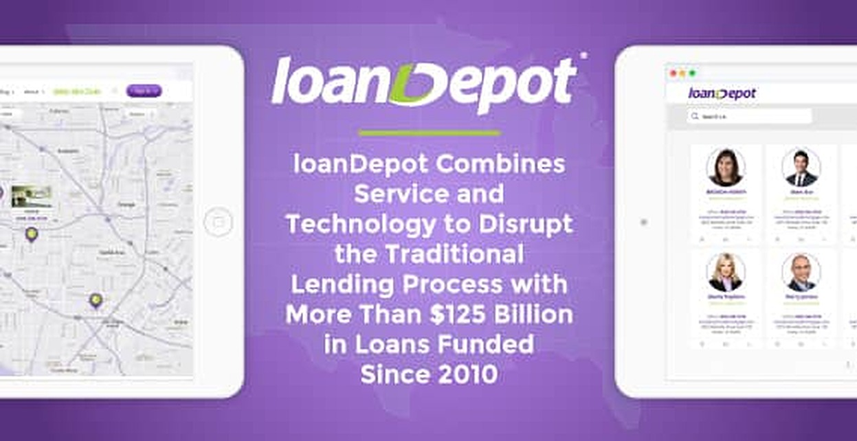 Loandepot Combines Service And Technology To Disrupt The