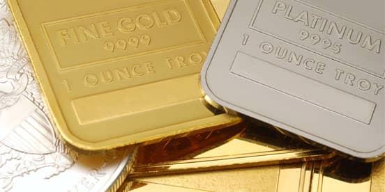 Stock Photo of Precious Metals