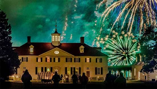 Photo of Fireworks at Mount Vernon