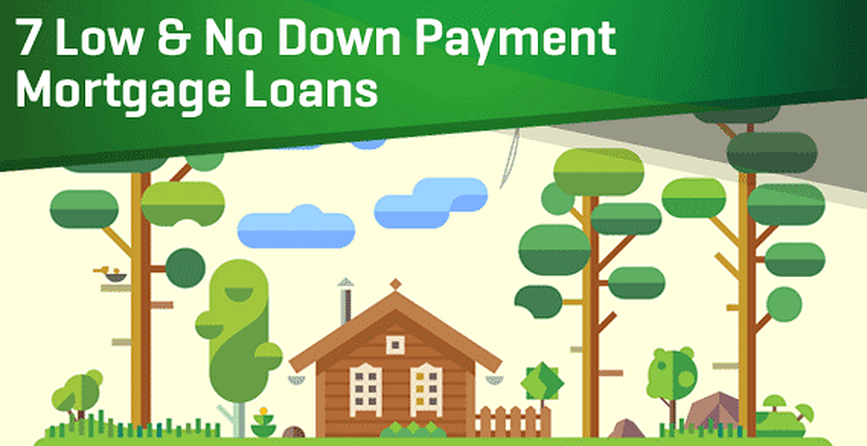 7 Low & No Down Payment Mortgage Loans (For Bad Credit)