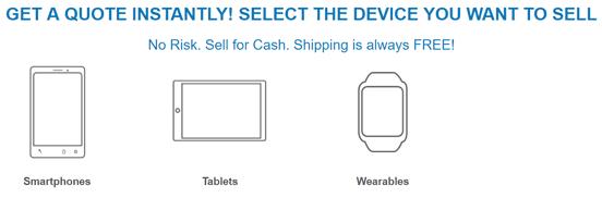 Screenshot from the NextWorth Homepage