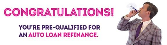 Auto loan refinance ad