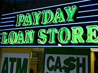 Payday Loan Store Sign