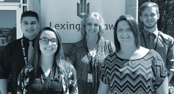 Photo of Lexington Law paralegals.
