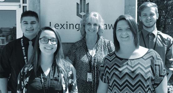 Photo of Lexington Law paralegals.