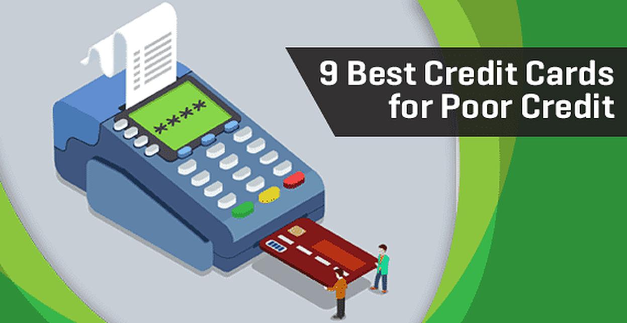 9 best credit cards for poor credit 2018 39 s top bad credit offers. Black Bedroom Furniture Sets. Home Design Ideas