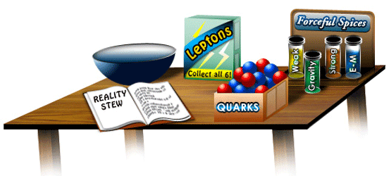 Reality Stew Image from The Particle Adventure