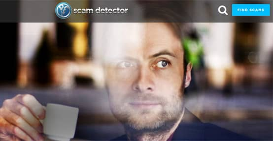 Scam Detector Homepage
