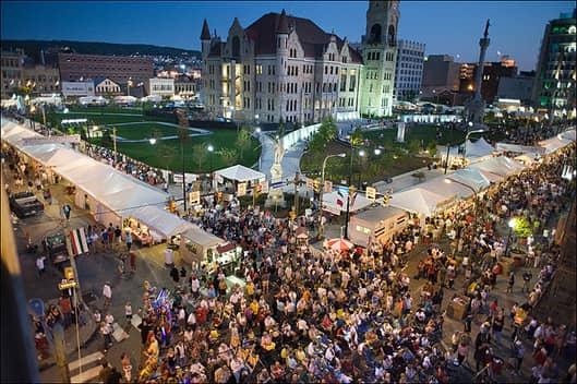 La Festa Italiana in Scranton, Pennsylvania
