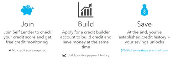 Screenshot from the Self Lender Homepage