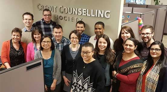 Photo of the Credit Counselling Society Team