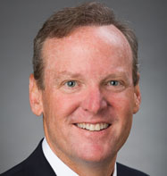 Portrait of Kevin Tweddle, Group Executive Vice President of Innovation & Financial Technology for ICBA