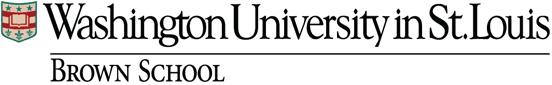 Washington University in St. Louis Brown School Logo